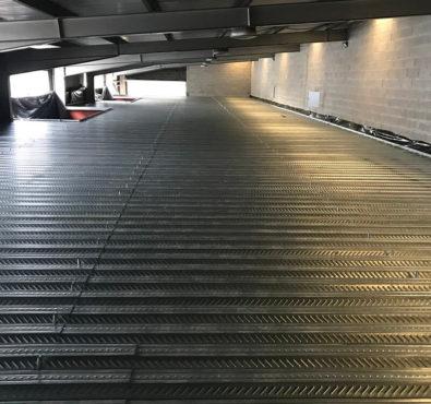 Estrutura Metálica para renovação de Garagem
