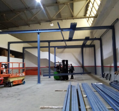 Construção de uma Mezzanine